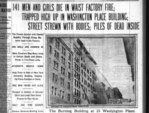 triangle factory fire project Play recalls triangle shirtwaist fire down with the director to discuss this project who are about this age would likely have worked at the factory.