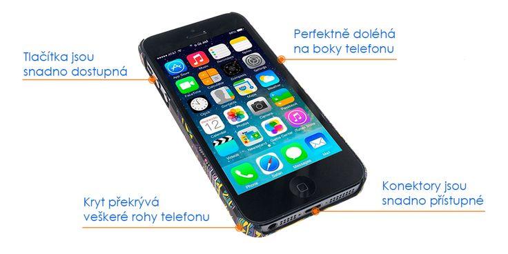 Kryt na iPhone 5, 5s, SE - iRaptor FullColor