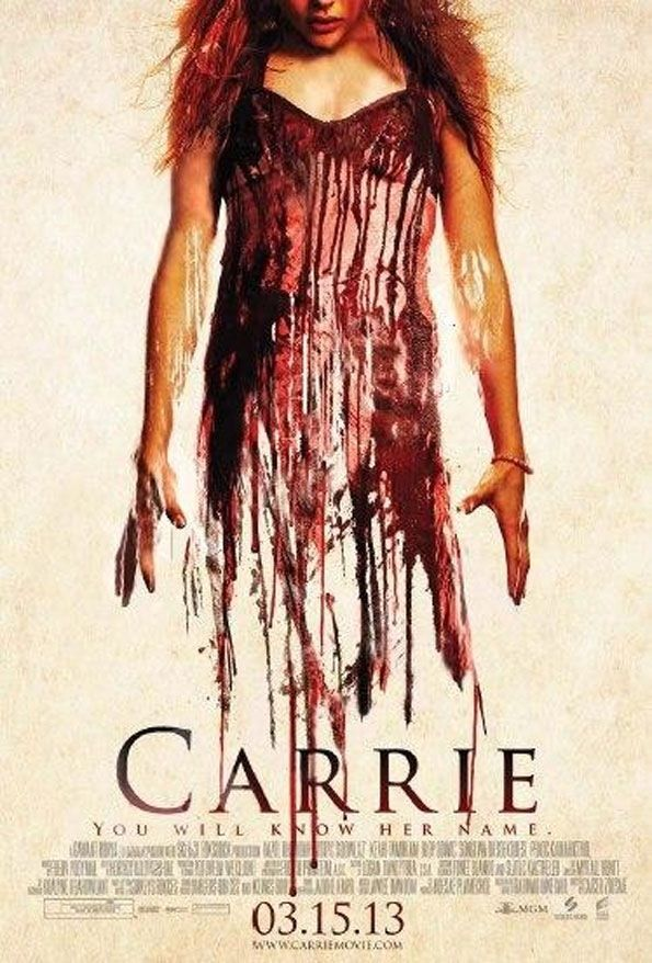 Cartel De La Pelicula Carrie Carrie White Horror Movie Posters Carrie Remake