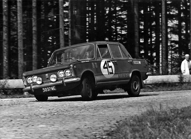 1971 Rajd Polski - Fiat 125p