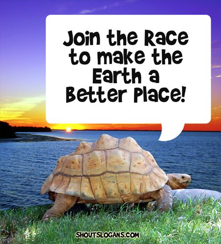 Join the Race to make the world a better place!