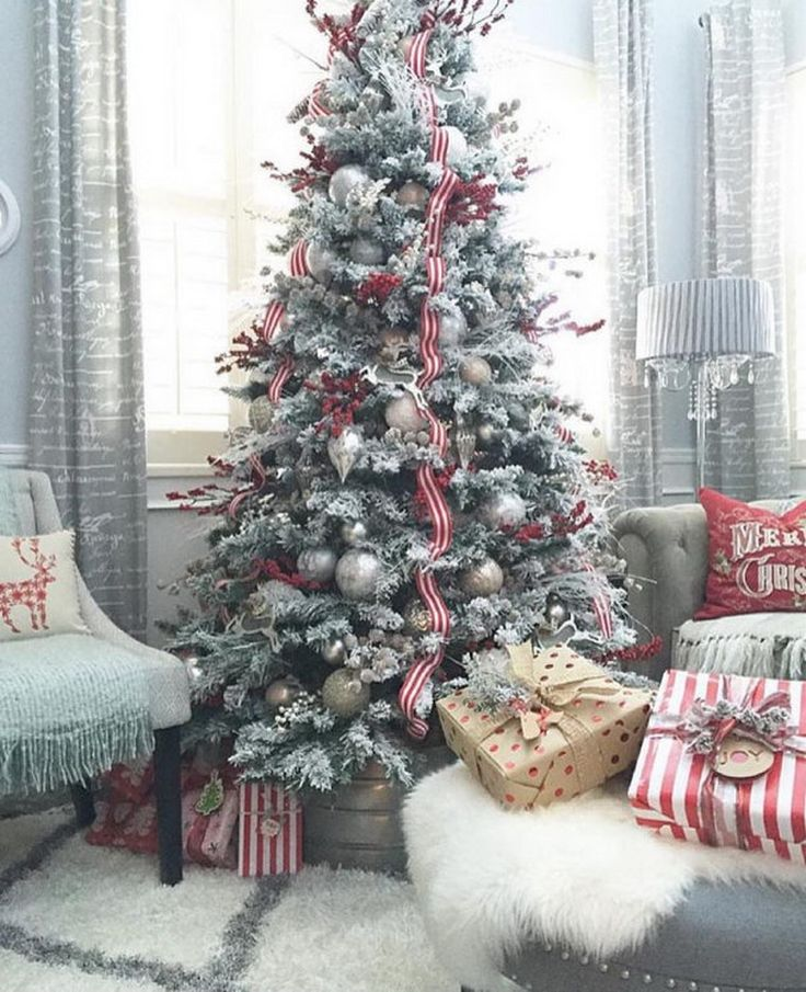 Pictures Of Decorated Christmas Trees 5319 best christmas tree images on pinterest | christmas time