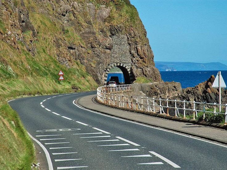 The Antrim Coast Road - windows down, drop a gear ...
