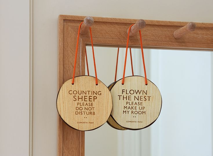 Cosworth Park hotel identity by And Smith Design