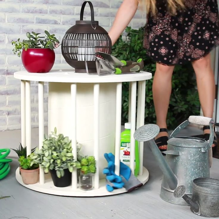 Easy DIY Spinning Table