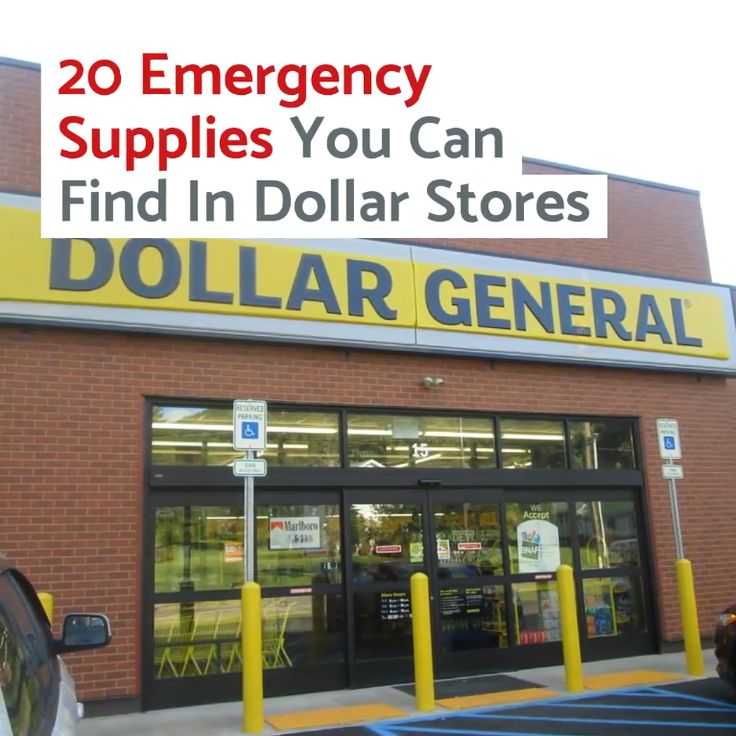 20 Emergency Supplies You Can Find In Dollar Stores