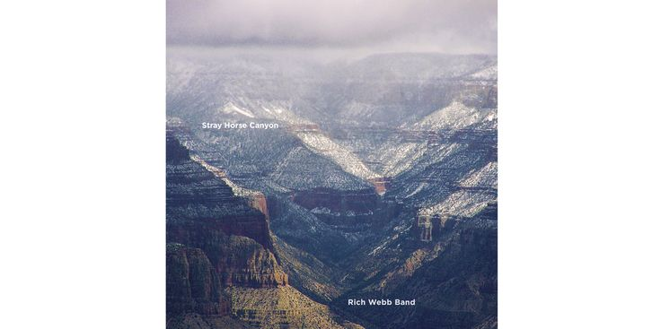 Music cover for Rich Webb Band – Stray Horse Canyon