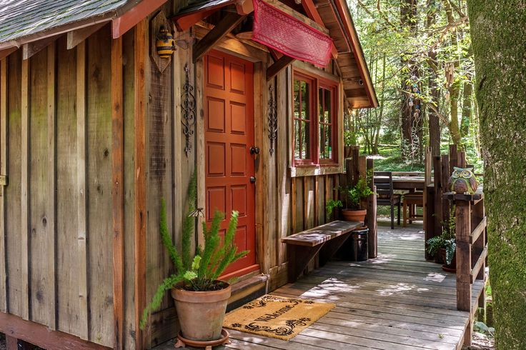 This Tiny Creekside Cabin for Sale Is Too Adorable for Words  - CountryLiving.com