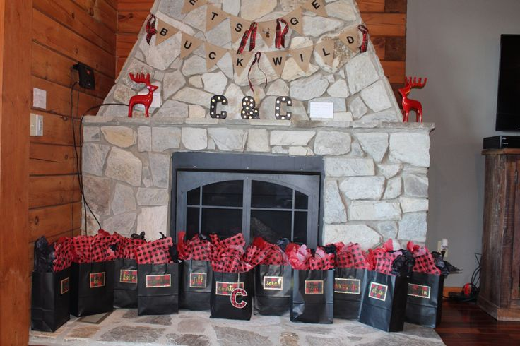 Flannel mountain themed bachelorette party bachelorette for Winter bachelorette party ideas