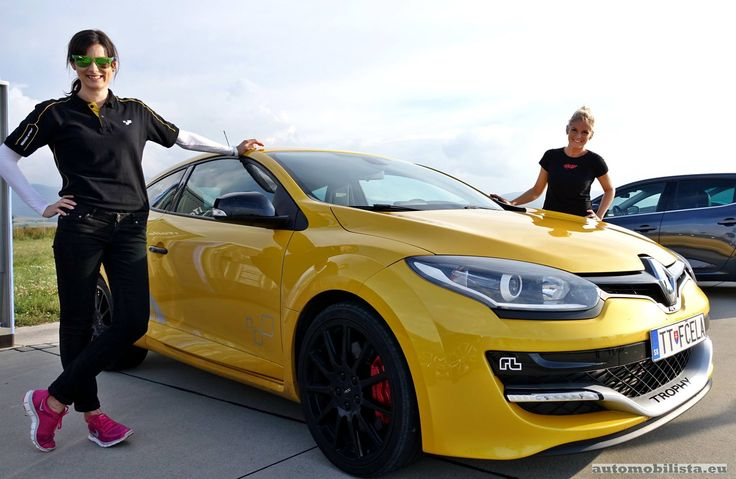 Two lovely girls with Renault Megane RS Trophy