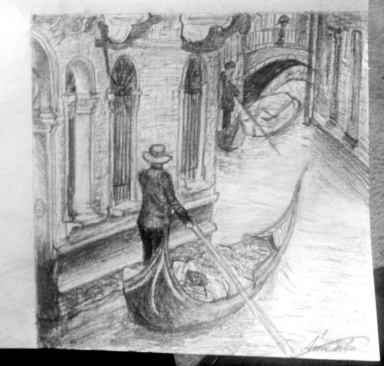 Venice draw Velence rajz