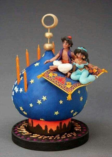 Aladdin Cake.