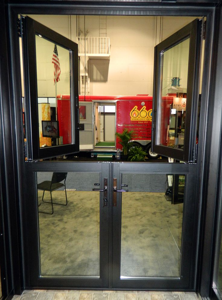 Glass Infill Photo Gallery: An All Glass Dutch Door Consists Of A Glass Infill In Both Panels. This Configuration Allows Fo