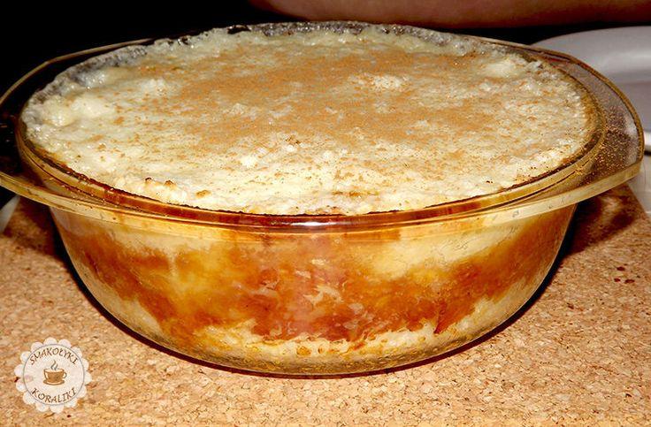 Ryż zapiekany z jabłkami i cynamonem   Smakołyki i koraliki