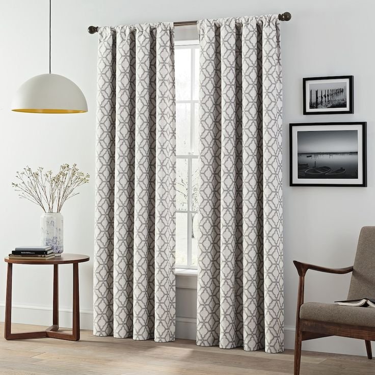 eclipse lollie blackout 2-pack window curtains | kohls in