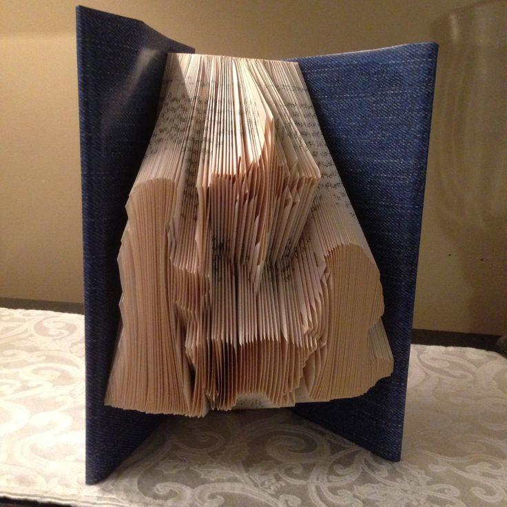 Nativity. Jesus, Christmas, Folded book art