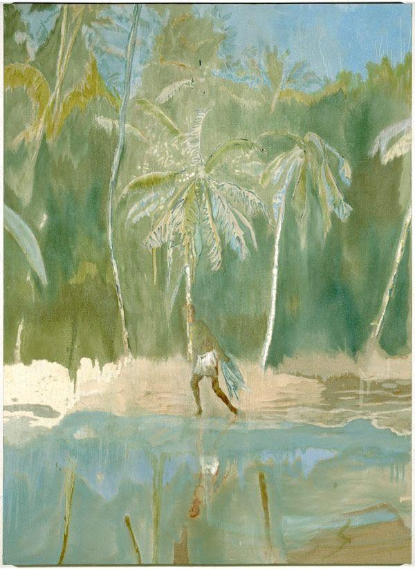 Peter Doig  Pelican 2004  Oil on canvas  Private Collection, Munich, courtesy CFA, Berlin © The artist Photo: Jochen Littkemann