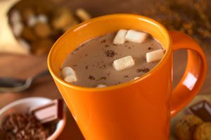 """I'm glad this is what scientists are studying... """"Hot Chocolate Tastes Better In An Orange Cup"""""""