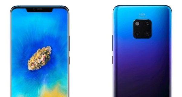 تسريب صور لجوال هواوي ميت 20 برو تكشف عن ثلاثة ألوان جذابة جديدة Electronic Products Phone