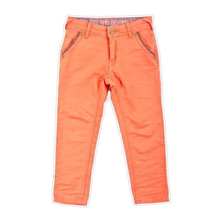 Orange Broek Quapi bij Minimoda. #Jongenskleding #Jongens #Kinderkleding