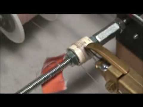 Morris Gingery Ham Radio Coil Winder - YouTube