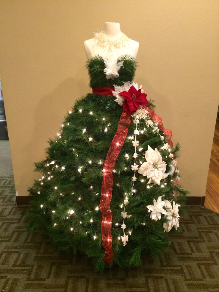 244 Best Christmas Tree Dresses Images On Pinterest