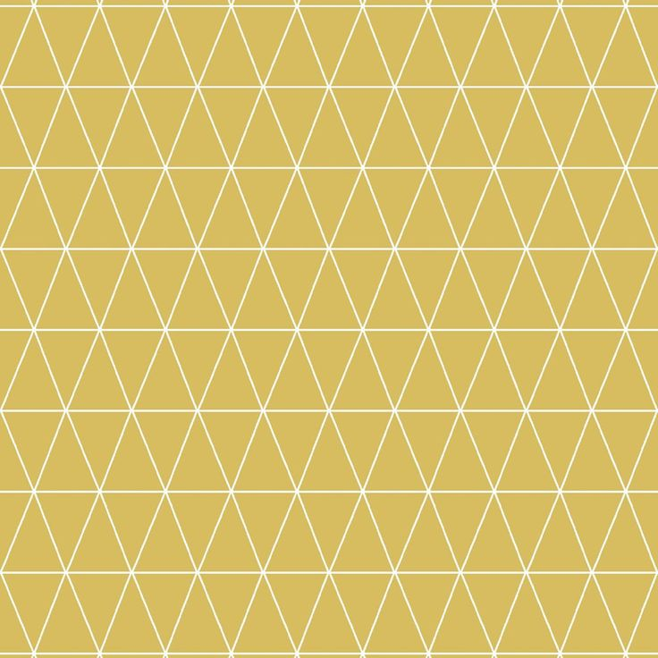 Suprefresco Wallpaper Easy Triangolin Mustard