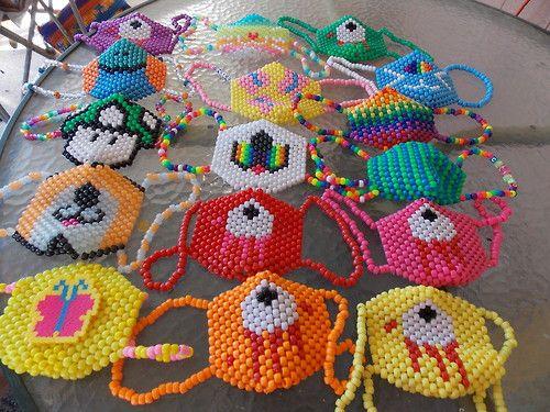 Kandi Pony Beads And Rave: 141 Best Images About Kandi Masks On Pinterest