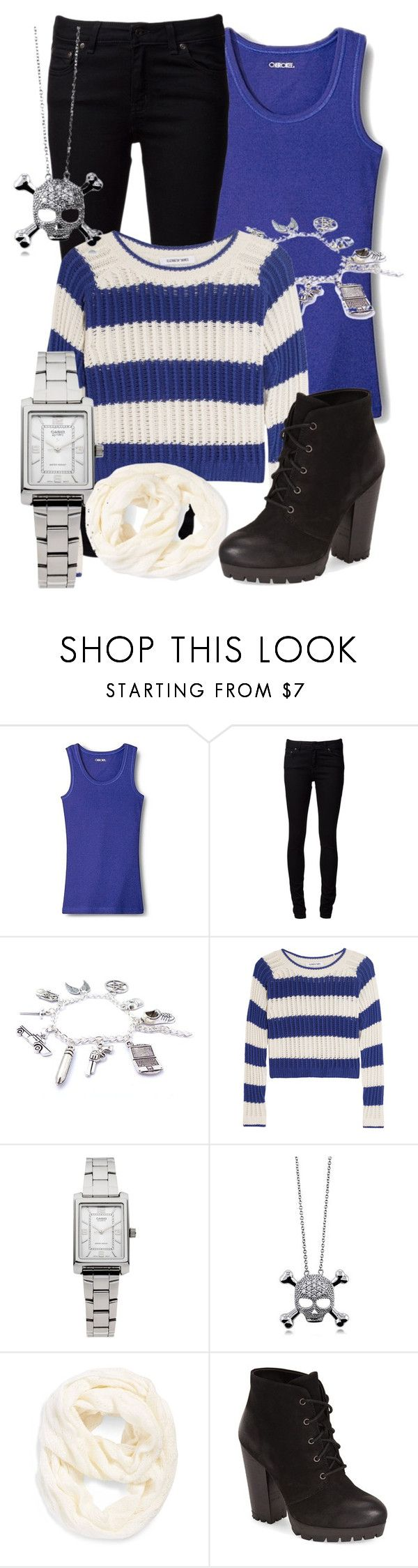 """""""set 4"""" by bebe6121985 on Polyvore featuring moda, Cherokee, Naked & Famous, Elizabeth and James, Casio, BERRICLE, Echo i Steve Madden"""