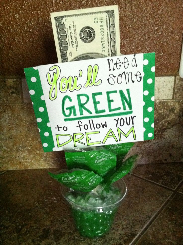 graduation gift ,use a solo cup with lid, wooden skewer, candy and scrap paper to create this simple gift for grads, high school or college. Put a pocket in the back and add the cash or check, it's perfect!!!!
