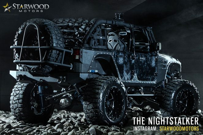 This thing is BAAAD! http://www.drysdales.com/ Custom Jeep by Starwood Motors