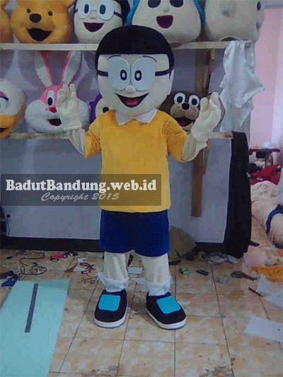 Badut Bandung   Jual Kostum Baju Badut Murah: Baju Badut Nobita Kuning