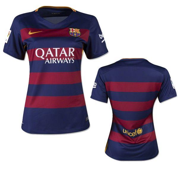 Maillot de foot Barcelone femme 2015 2016 domicile Pas cher