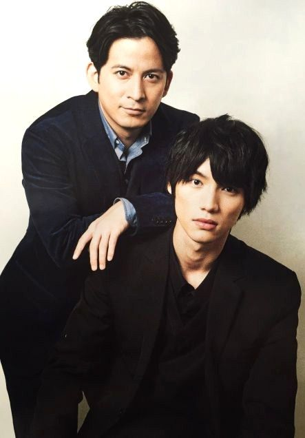 "Junichi Okada, Sota Fukushi, J Movie ""Library Wars -THE LAST MISSION-"". Release: 10/10/2015."