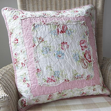 Vintage Shabby Chic Pillow Shams : 17 Best images about Cushions and pillow shams on Pinterest Shabby chic, Handmade cushions and ...