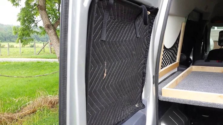 Ford Transit Connect Stealth Camper Conversion Features