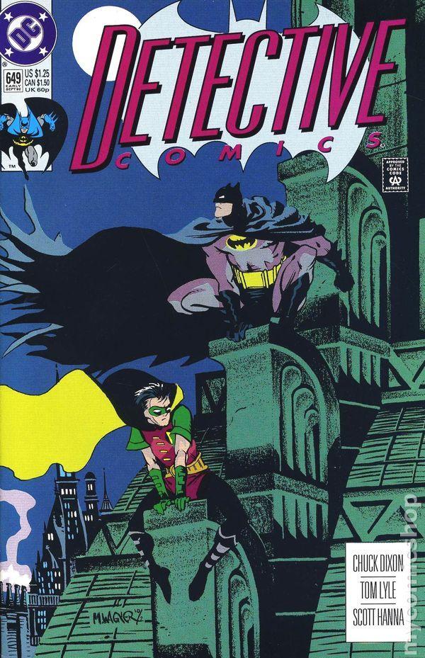 Detective Comics (1937 1st Series) 649