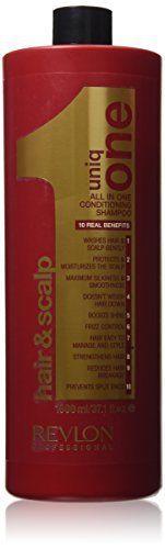 Revlon – Uniq One Shampooing Baume Soin Grand format: 1000ml Gamme Revlon Pro: Tweet Voici en un seul shampoing 10 atouts réunis ! C'est le…