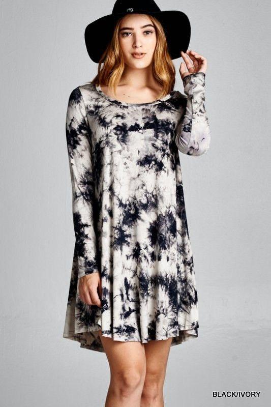 Paradise Tie-dye Tunic Dress | Siloe
