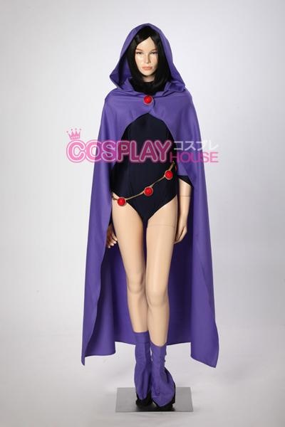I Found Teen Titans -- Raven Cosplay Costumes On Wish -4546