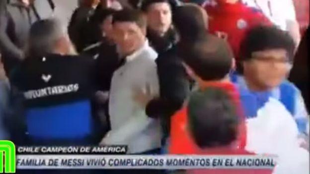 Lionel Messi: salen imágenes reveladoras de la agresión a su familia