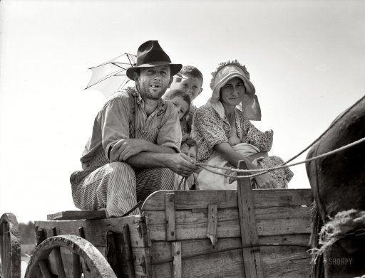 1937 Sharecropper family: Dorothea Lange, Dust Bowl, Historical Photo, Vintage Photos, Depression Era, Georgia, Sharecropper Family, Families