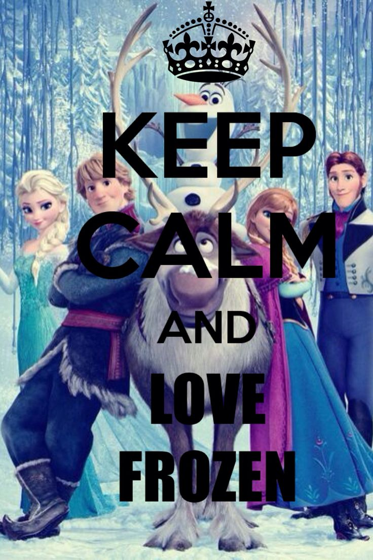 Keep calm and love winnie pooh keep calm and carry on image - Keep Calm And Love Frozen