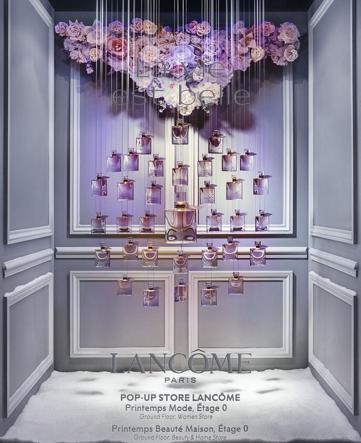 "CONTE DE PRINTEMPS À NOËL, ""Presents Lancôme Gifts"", by David Moliere, pinned by Ton van der Veer"