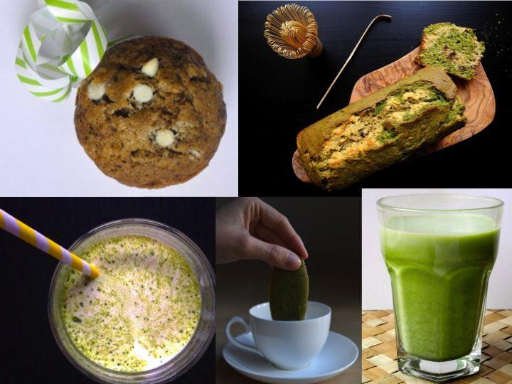 Dal Matcha Latte ai muffin, dal frullato banana e matcha al banana bread, passando per i biscotti. Ecco le mie ricette per la colazione preferite a base di matcha