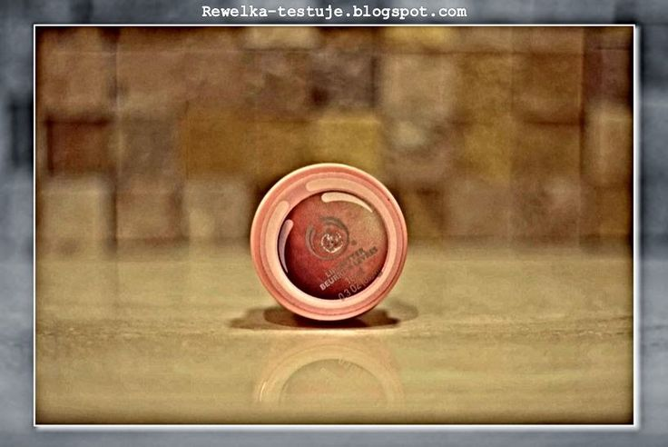 Rewelka Testuje: Moc grejfruta na moich ustach! Pink Grapefruit Lip Butter od The Body Shop
