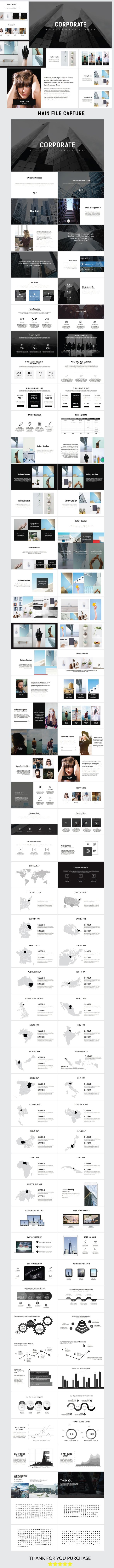 Corporate Multipurpose Powerpoint - #PowerPoint #Templates Presentation Templates Download here: https://graphicriver.net/item/corporate-multipurpose-powerpoint/19304179?ref=alena994