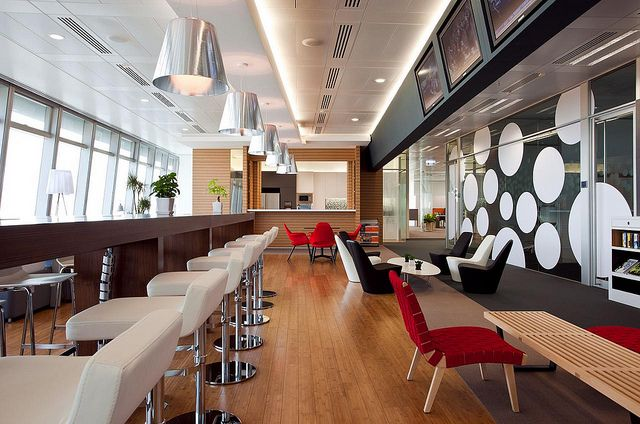 Ultra Modern Office - Cafeteria