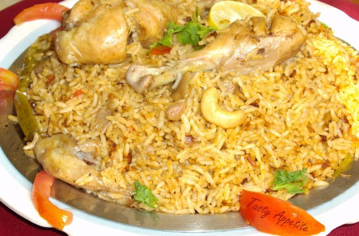 Biryani is a set a rice based food made mixed with many kinds of spices; either with meat and/or vegetables. Description from junaidghumman.wordpress.com. I searched for this on bing.com/images