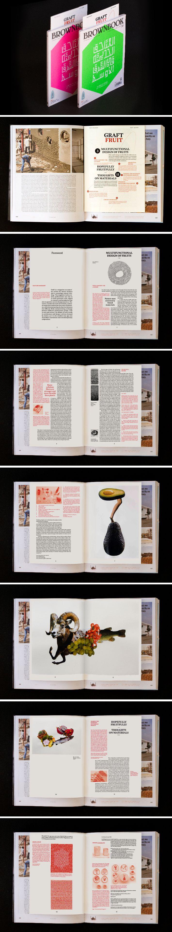Graft Magazine - Fruit Issue. Inside BROWNBOOK